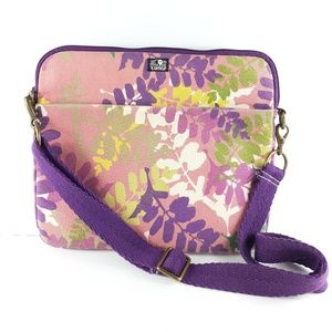 Lucky Brand Floral Computer Laptop Bag